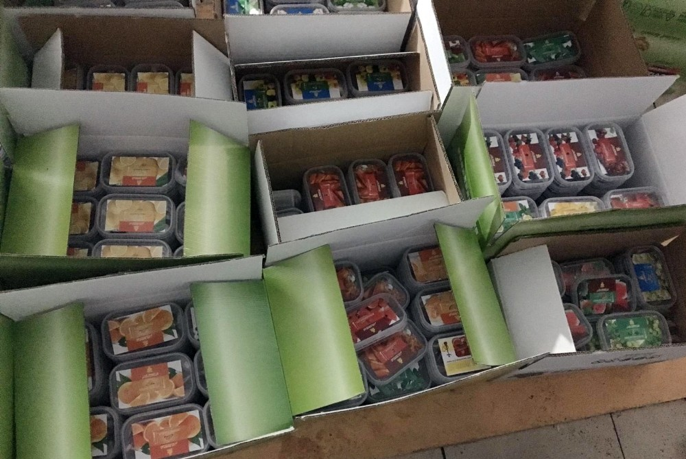 Alanya'da kaçak nargile tütün imalathanesine baskın: 1 gözaltı