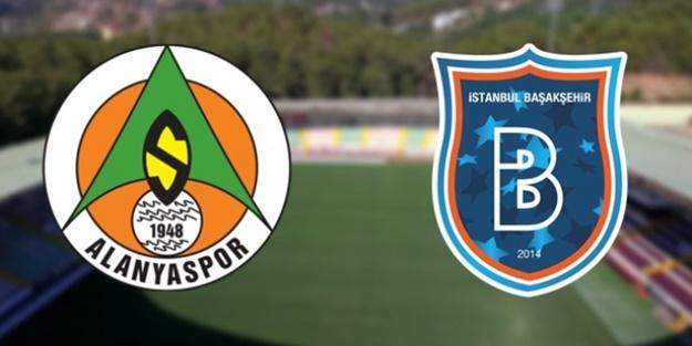 Alanyaspor Başakşehir maçı muhtemel 11'leri