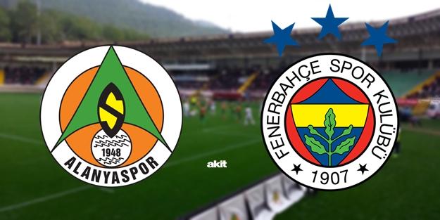 Alanyaspor Fenerbahçe maçı ne zaman saat kaçta hangi kanalda?