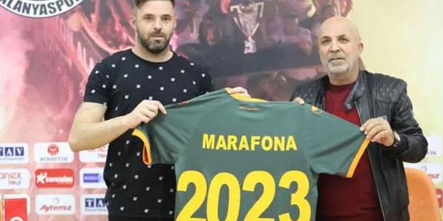 Alanyaspor kaleci Marafona ile sözleşmeyi uzattı