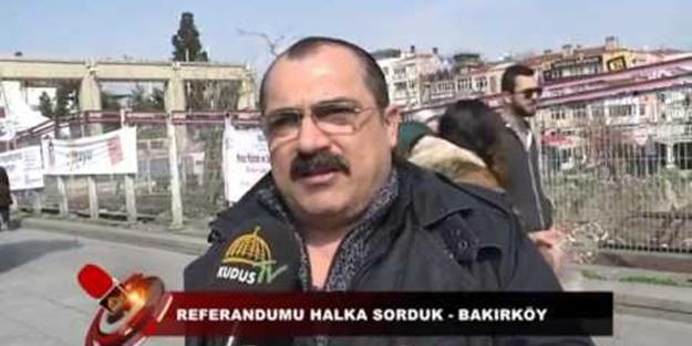 Alevi vatandaştan muhteşem 'Evet' açıklaması!