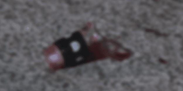 Alevlenen tartışmada kırık şişe dehşeti! Kanlar içinde yere yığıldı