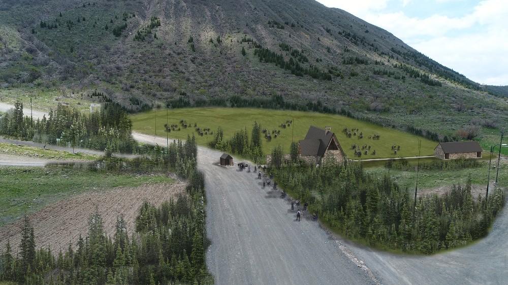 Ali Dağı'na 20 bin metrekare daha yeşil alan