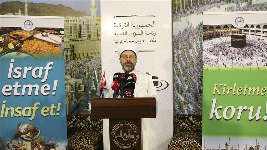 Ali Erbaş: Hac Müslümanların kardeşlik kongresi