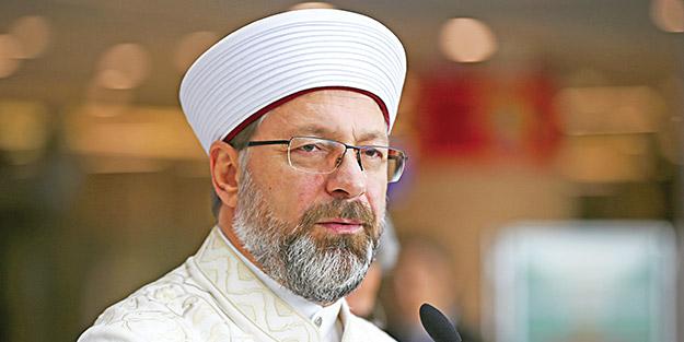 Ali Erbaş'tan 'ayet' ve 'hadis' uyarısı! İleri geri konuşan hadsizlere cevap verdi