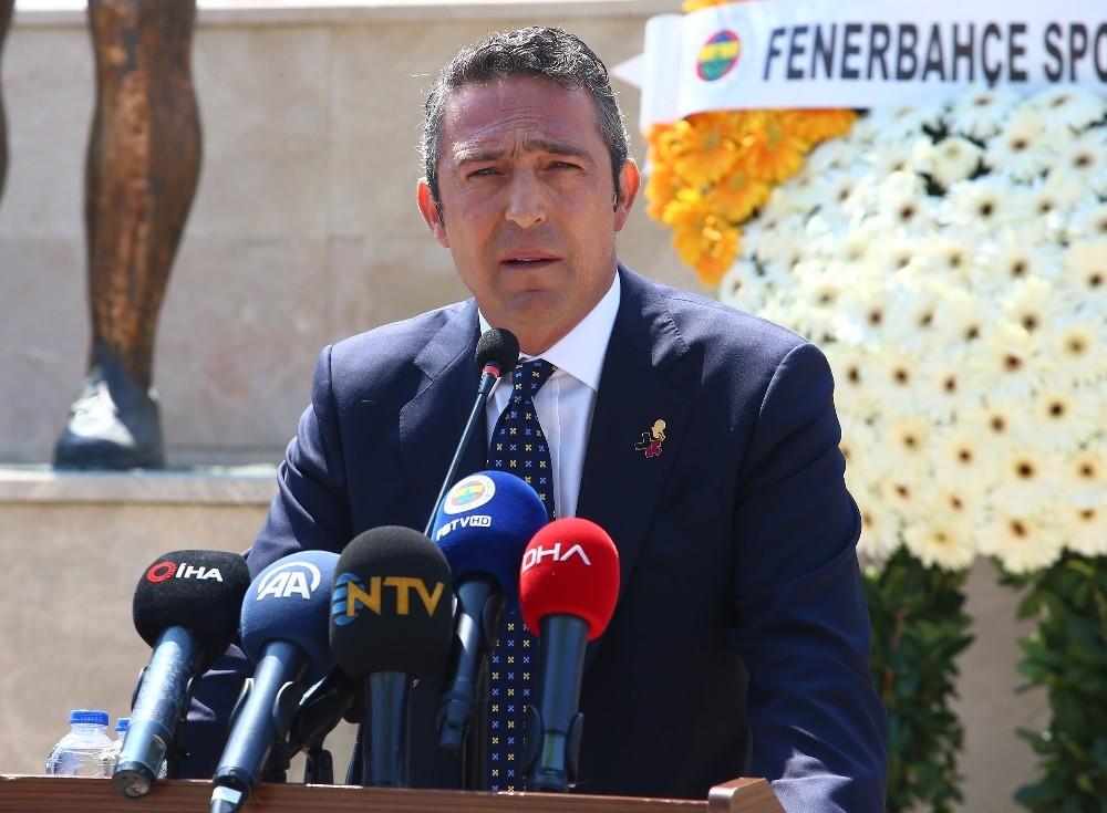 """Ali Koç: """"Ersun Yanal'ın istekleri doğrultusunda transfer listemizi belirledik"""""""