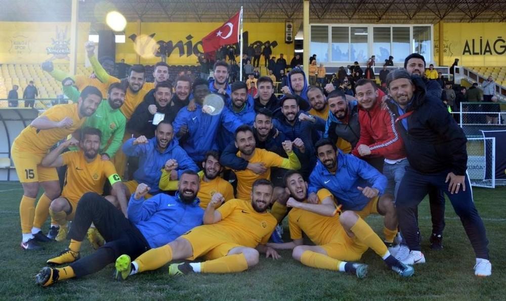 ALİAĞASPOR FK ADIM ADIM ŞAMPİYONLUĞA