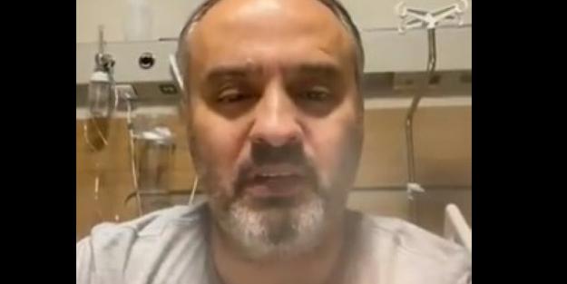 Alinur Aktaş hastane odasından açıklama yaptı