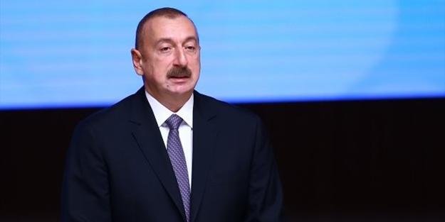 Aliyev şehitler için başsağlığı mesajı yayımladı