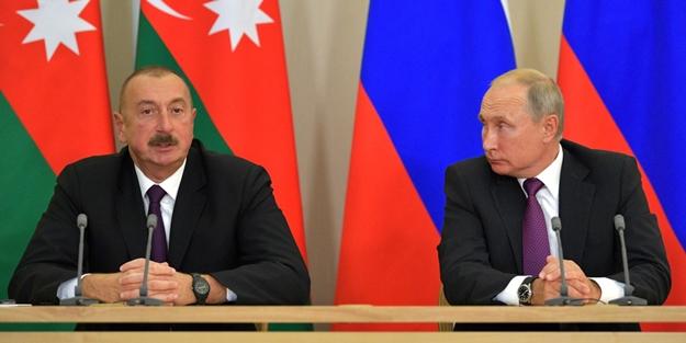 Aliyev'den Putin'in yüzüne karşı Türkiye resti!