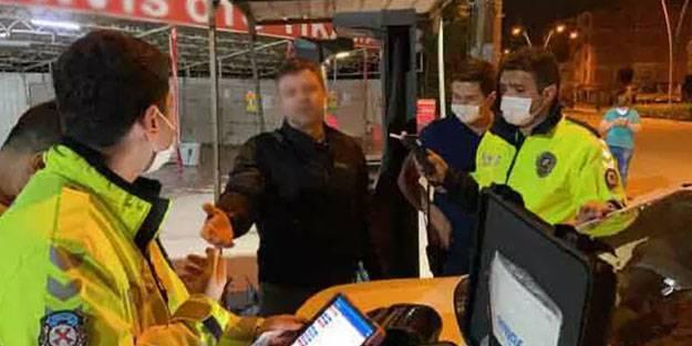 Alkollü sürücü polisleri çileden çıkardı