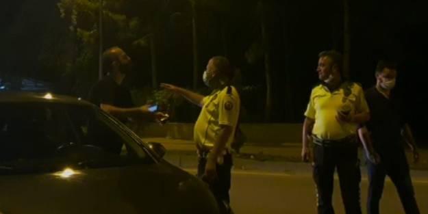 Alkollü sürücünün itirafı şaşırttı: Yakaladınız çok güzel