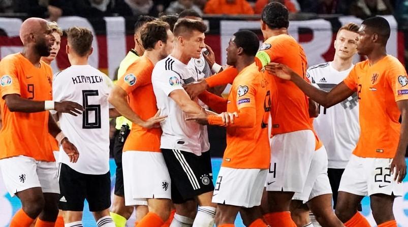 Almanya-Hollanda maçı kaç kaç bitti? Almanya-Hollanda maçı özeti ve skoru