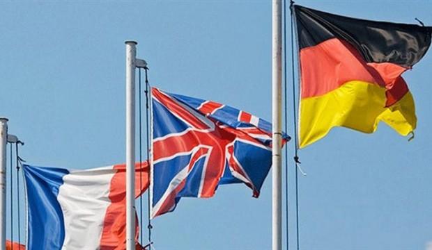 Almanya, İngiltere ve Fransa'dan ortak açıklama: İran'ı uyarıyoruz