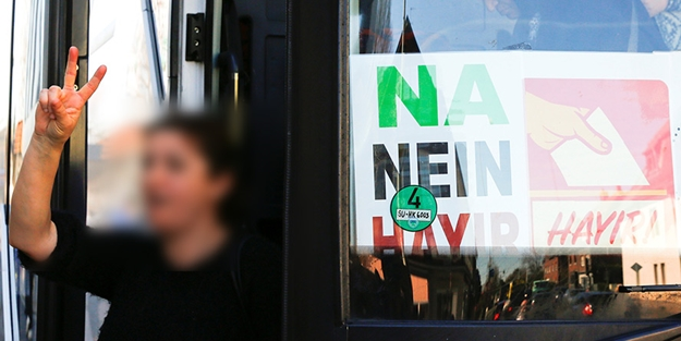 Almanya PKK'lıları oy kullanmaya otobüsle götürüyor