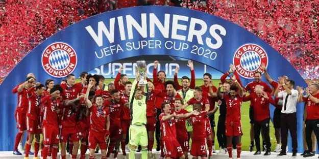 Almanya Süper Kupası'nın sahibi belli oldu