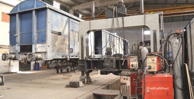 Almanya ve Fransa'nın vagonları Afyon'dan