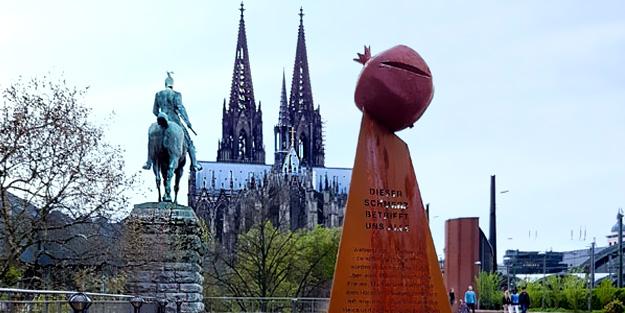 Almanya yine kaşınıyor! Sözde Ermeni soykırımı anıtı dikildi