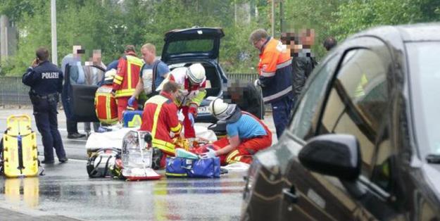 Almanya'da cami çıkışı feci kaza: 5 Türk ağır yaralı