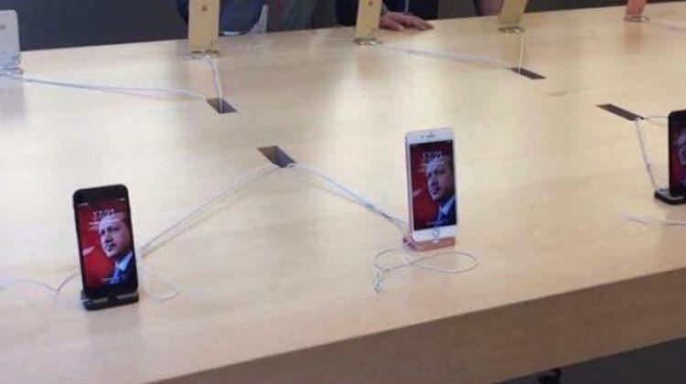 Almanya'daki teknoloji marketinde Cumhurbaşkanı Erdoğan rüzgarı!