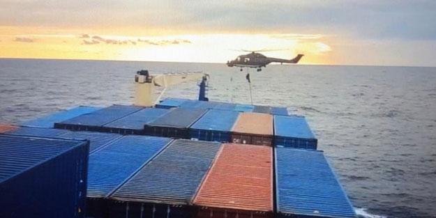 Almanya'dan pişkin Türk gemisi açıklaması