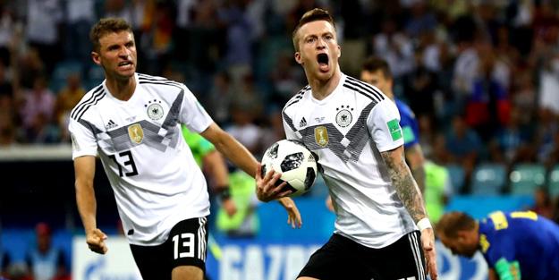 Almanya'dan son dakikada altın gol! 2-1