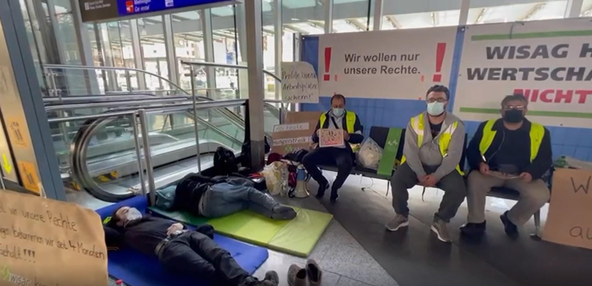Almanya'nın en büyük havalimanında Türk işçi kıyımı