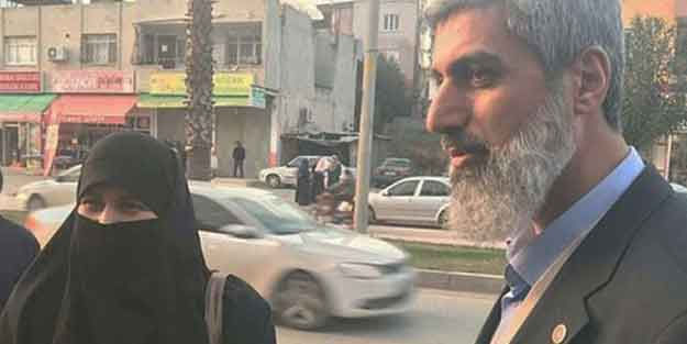 Alparslan Kuytul'un eşi gözaltına alındı