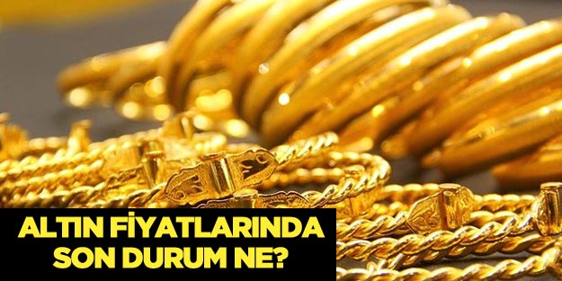 Altın bugün ne kadar? Anlık gram, çeyrek altın güncel fiyatları