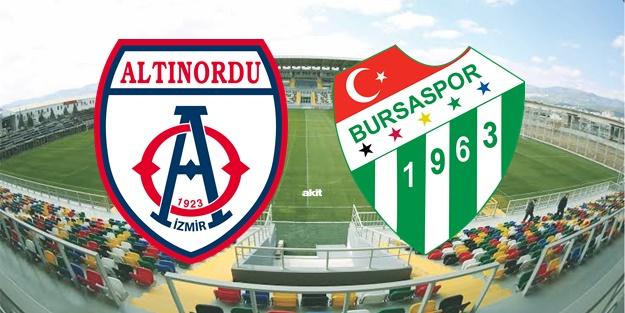 Altınordu Bursaspor maçı ne zaman, saat kaçta, hangi kanalda?