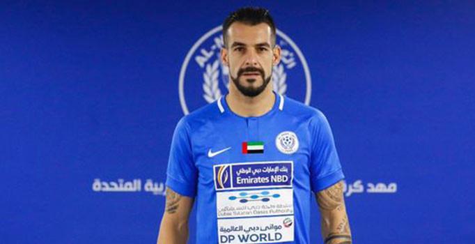 Beşiktaş'tan ayrılarak Dubai'nin Al-Nasr takımına transfer olan İspanyol forvet Negredo, sosyal medya aracılığıyla siyah-beyazlı takıma teşekkür etti.