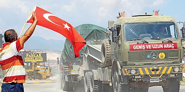 Amaç Akdeniz'e açılan Kürt devleti