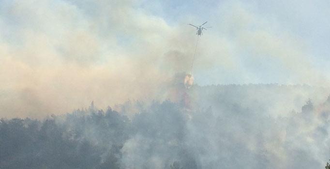 Amanos Dağları'nda orman yangını çıktı