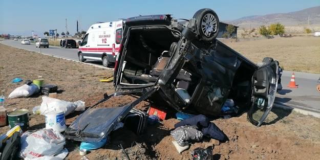 Amasya'da feci kaza: Yaralılar var