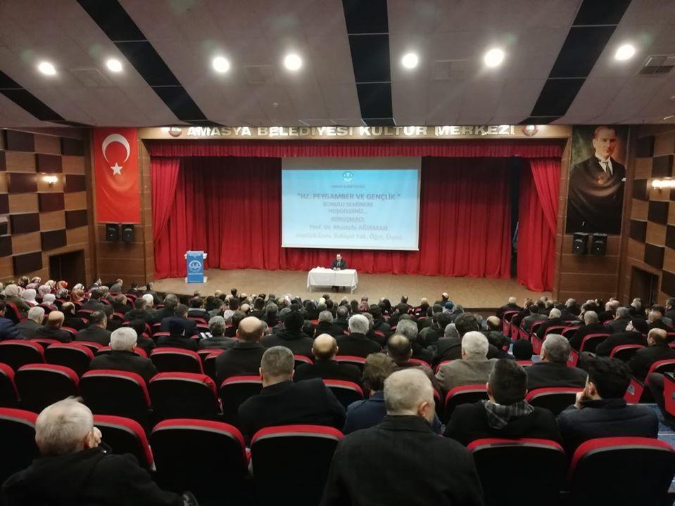 Amasya'da Hz. Peygamber ve Gençlik Konferansı