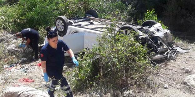 Amasya'da korkunç kaza! Aynı aileden 3 kişi öldü
