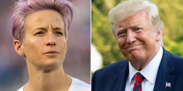 Amerika Kadın Milli Takımı'nın oyuncusundan Trump'a olay sözler! 'En önemli şey o manyağı…'