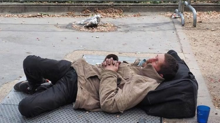 Amerika'da yarım milyon evsiz kışla mücadele ediyor