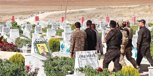 Amerika'nın skandalları bitmiyor! ABD askerleri PKK mezarlığında