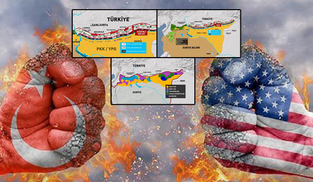 Amerika'nın Türkiye'ye dayattığı haritalar ortaya çıktı! Sır gibi ayrıntılar