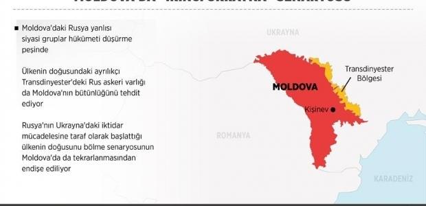 Moldova'da da Ukrayna senaryosu icra edildi
