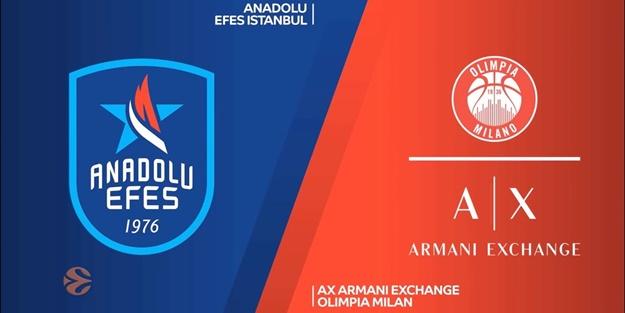 Anadolu Efes Olimpia Milano maçı ne zaman saat kaçta hangi kanalda? Euroleague 10.hafta