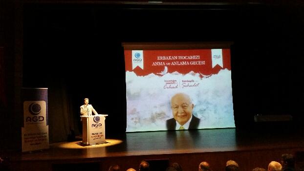 Anadolu Gençlik Derneği anlamlı bir program düzenledi