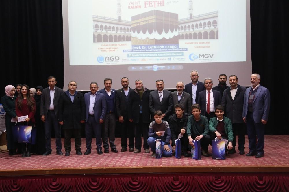 Anadolu Gençlik Derneği'nden Develi'de 'Mekke'nin Fethi' programı