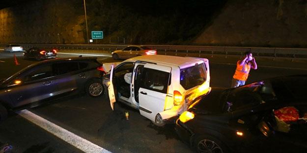 Anadolu Otoyolu'ndaki feci kaza: 3 kişi yaralandı