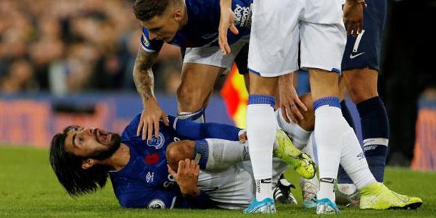 Andre Gomes'in ayağı kırıldı! Cenk Tosun'un o hareketi olay oldu