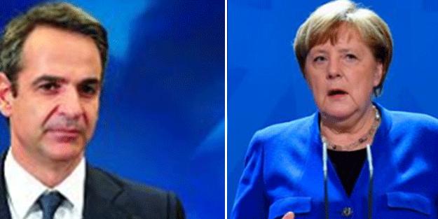 Angela Merkel Yunan'ı ipten aldı