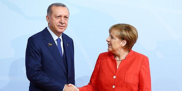 Angela Merkel'den Erdoğan açıklaması
