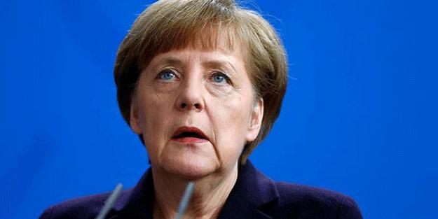Angela Merkel'den Küstah Afrin operasyonu açıklaması