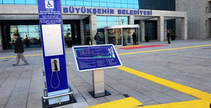 Ankara Büyükşehir'de FETÖ operasyonu!